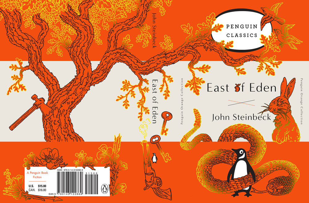 Penguin Orange Collection.  Art Director Paul Buckley.
