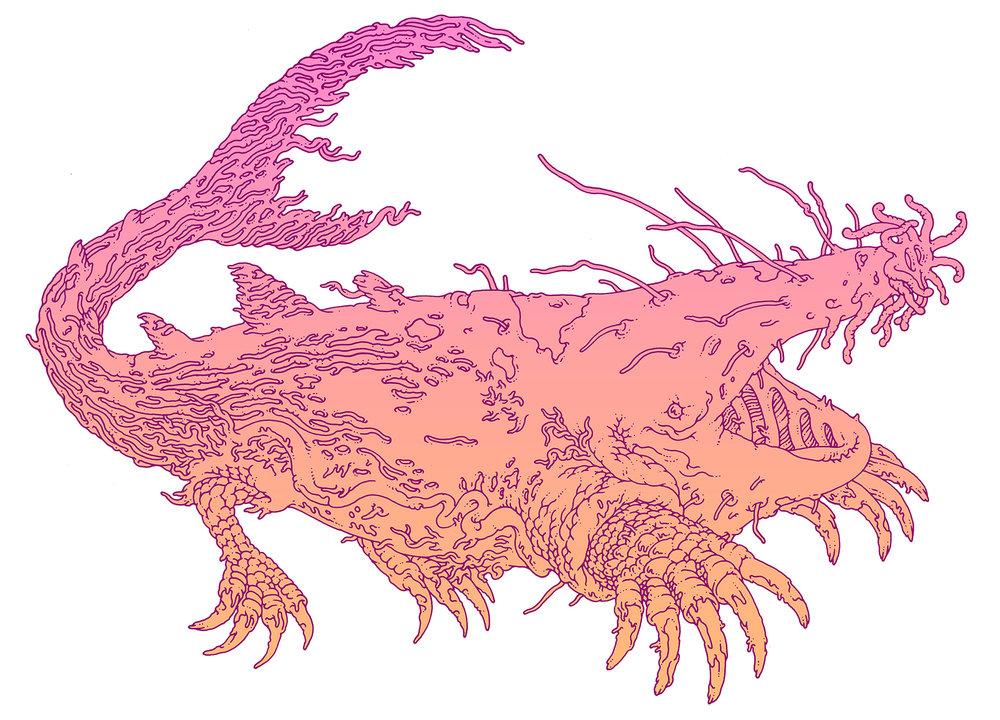 MCD Books. Gap-Jawed Leviathan. Borne Bestiary By: Jeff Vandermeer