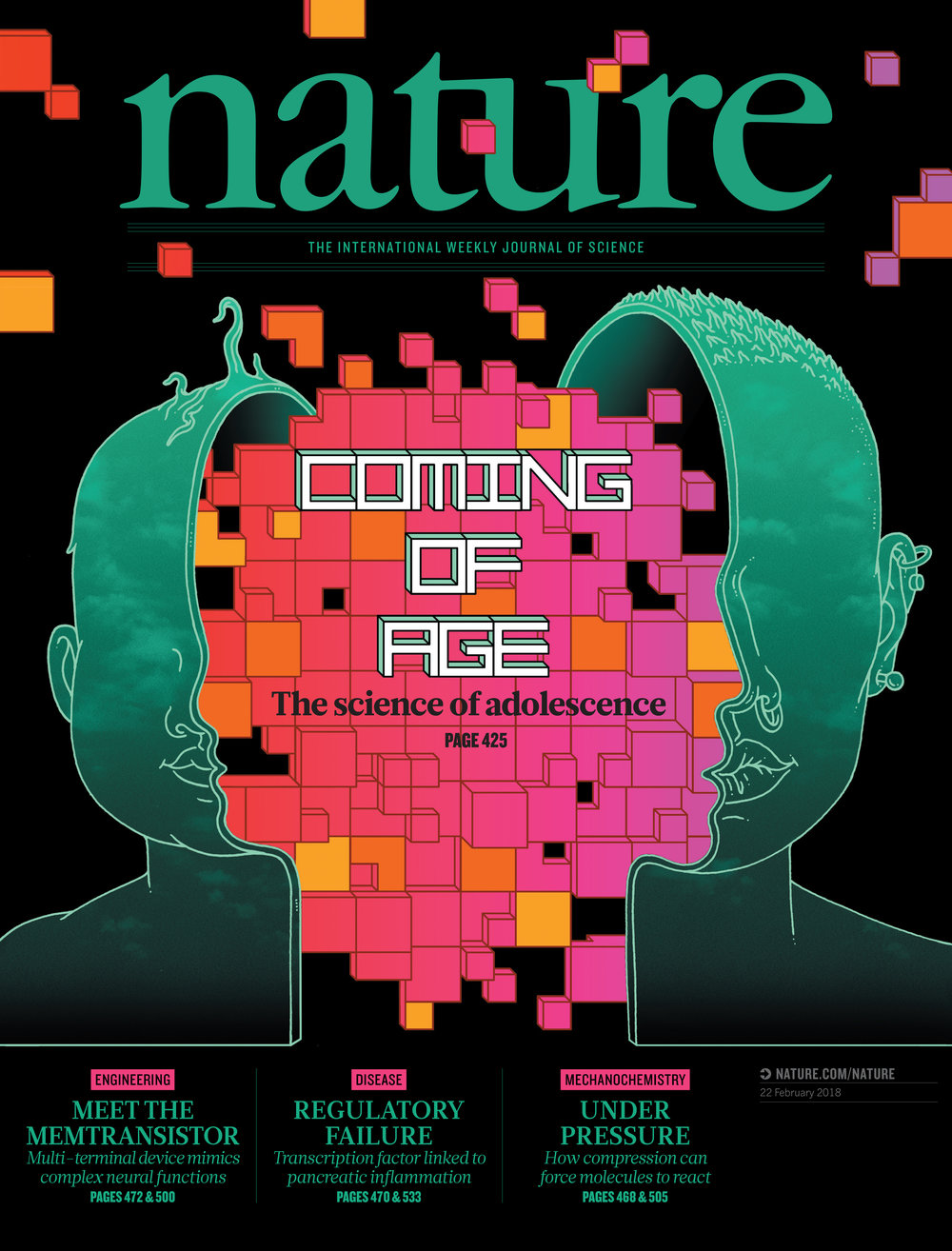Nature: The International Weekly Journal of Science. AD Kelly Krause.