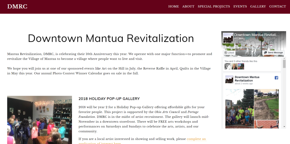 Downtown Mantua Revitalization Corp. -