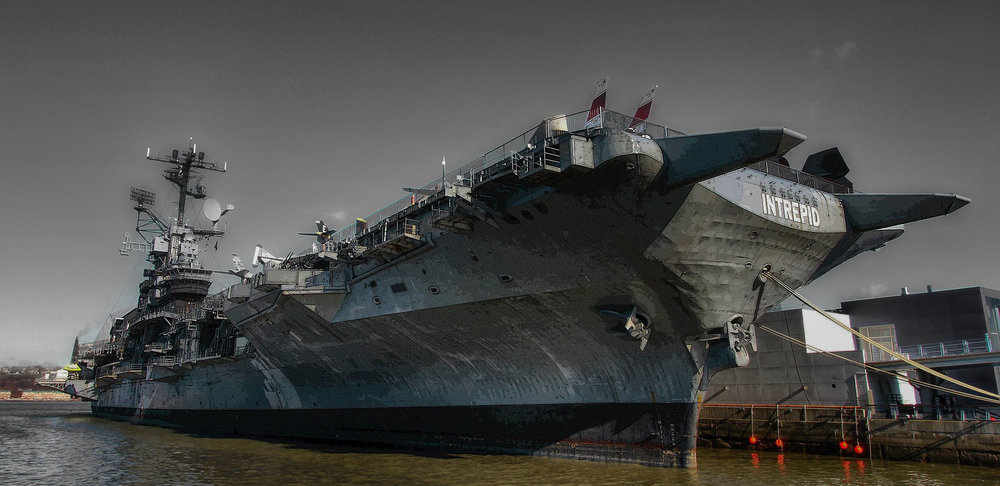 USS Intrepid photo by Robert Babby