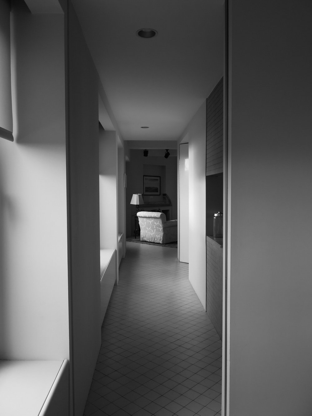 Empty Hallway, 20x30 cm (8.3x11.7 in), digital print, 2016