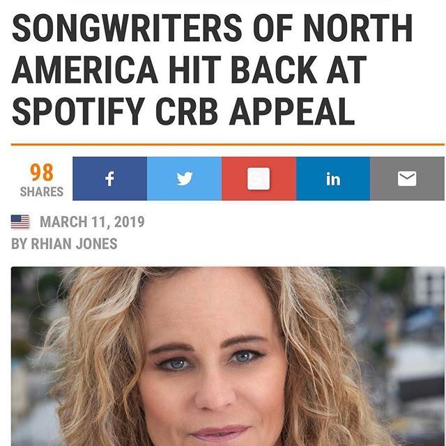 #Repost @dinalapolt ・・・ Make no mistake- @spotify is appealing the rate court's decision to pay songwriters a fair wage and instead want to continue to pay below market rates.  NOT GOOD for songwriter/artist relations. #streamappleinstead #musicarmy #wearesonala.