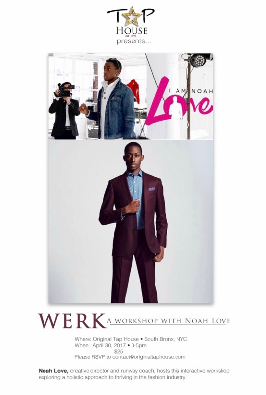 Just Werk is a workshop for those seeking to understand themselves within the fashion industry - learning everything from social media behaviors to self awareness.