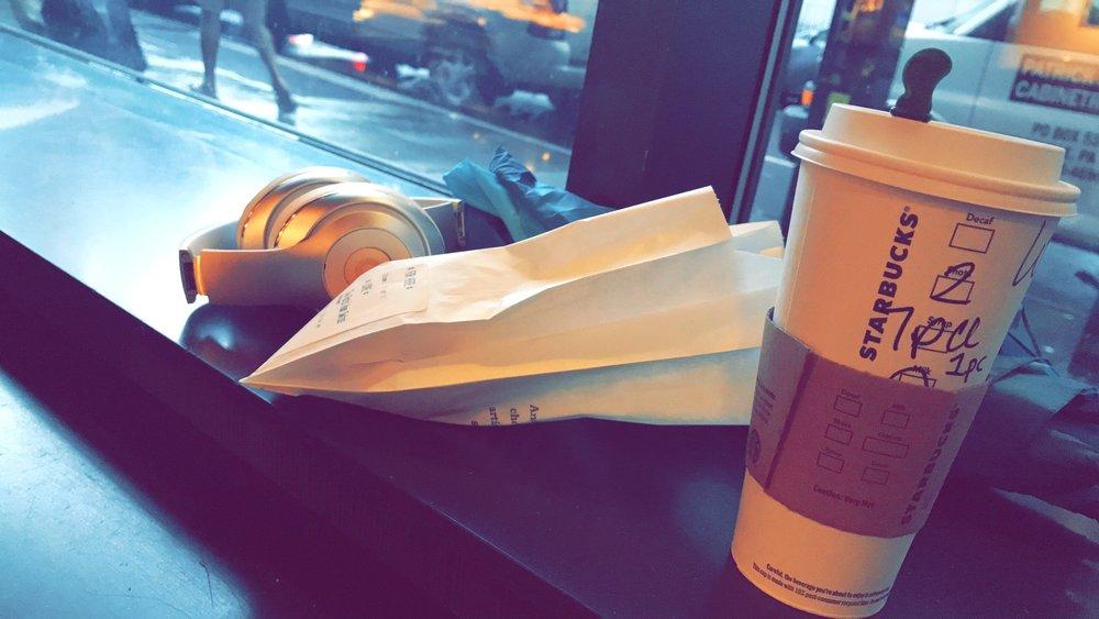 Mornings in Starbucks