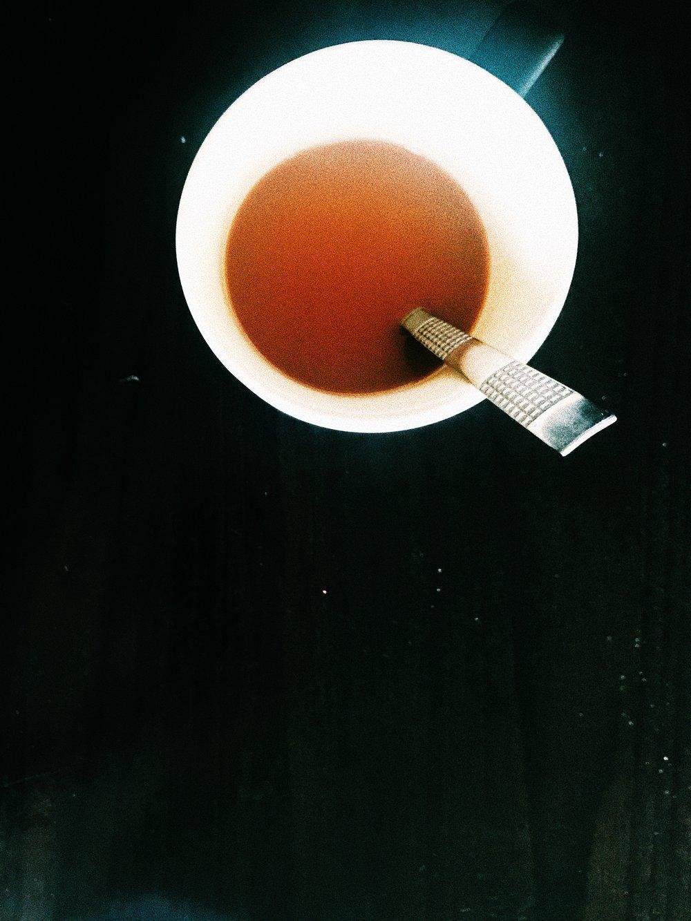 Me & God Made Coffee ( Photo Credit- Noah Love ) - iPhone X