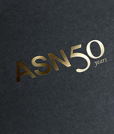 american society of nephrology anniversary logo