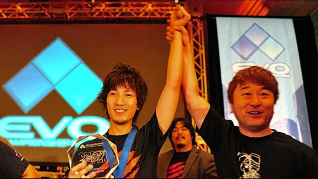Daigo after winning  another  Evo championship.