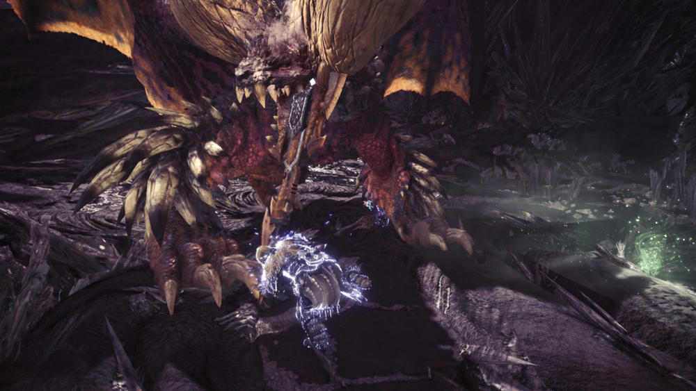 World  automatically saves an image of the final blow in a quest. Sometimes, they're perfect.