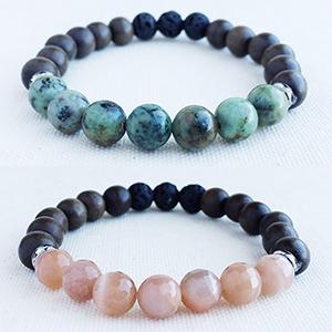 Signature Gemstone Diffuser Bracelets