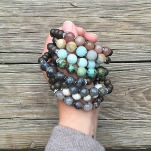 Big Beads Diffuser Bracelets