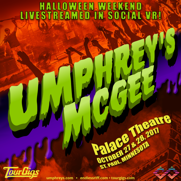 Umphrey's McGee Halloween Shows to Be Livestreamed in Social VR ...