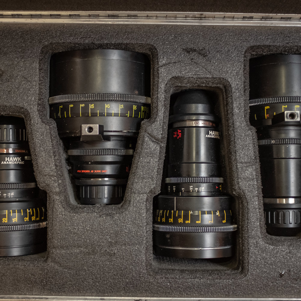 Hawk Anamorphic C-Series lenses from Keslow Camera