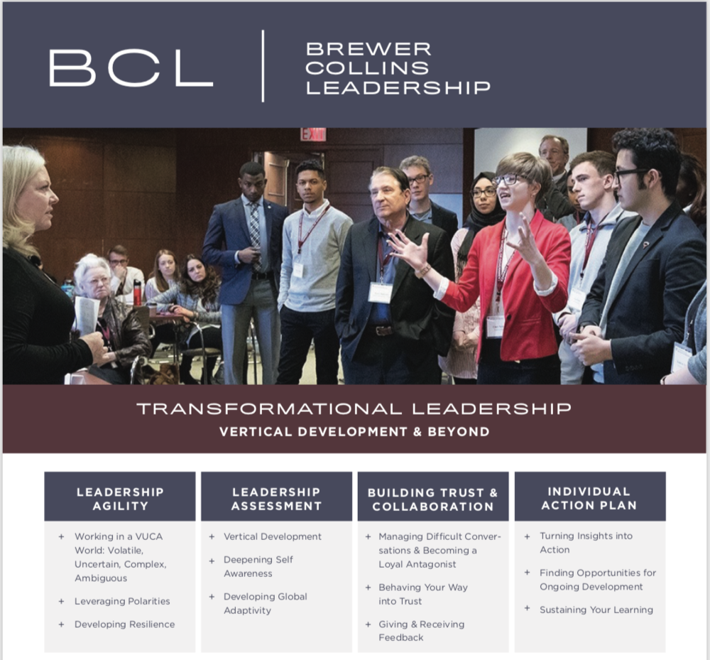 Find out more: brewercollinsleadership.com/register