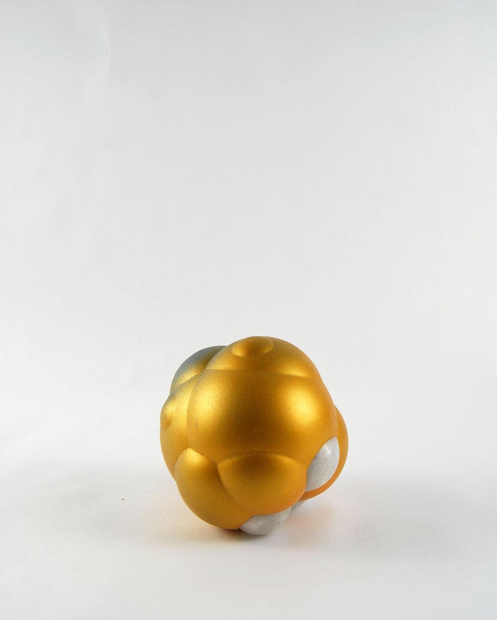 """Object #01.14 (4""""x5"""", plastic & paint)"""