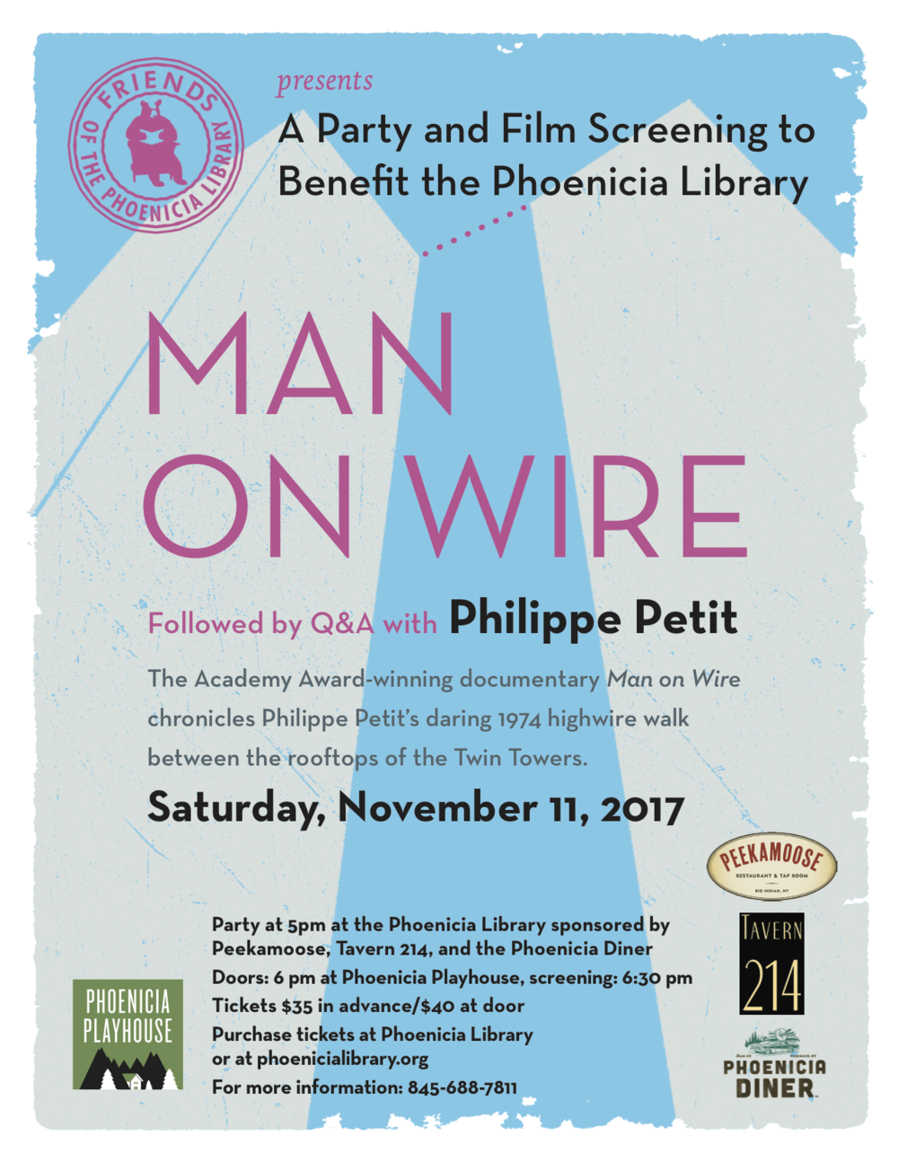 Man on Wire — Phoenicia Playhouse