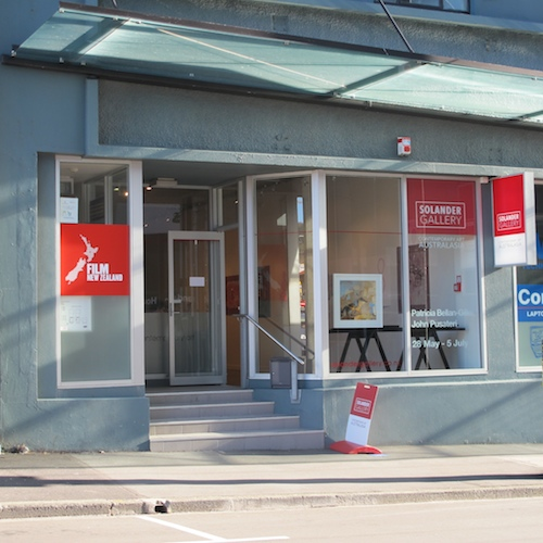 SOLANDER GALLERY  218c Willis Street  Tues to Fri 10am - 5.30pm Sat 10am - 4pm
