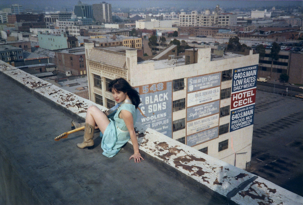 Anny on roof.jpg