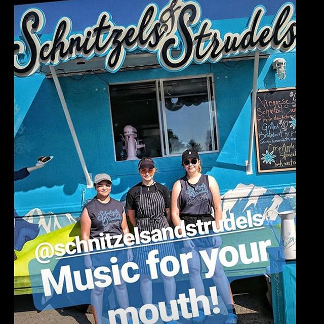 We're prepped and ready to roll! #🚛 forecast calls for a schnitztastic evening at @pdsuppermarket #seeuthere