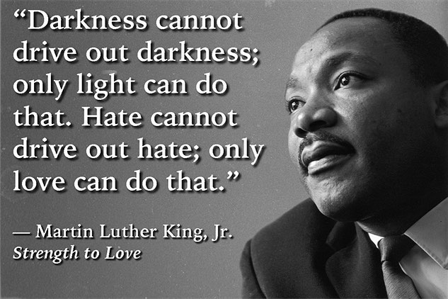 Martin Luther King was an incredible man. Gave everything to make the world a better place. His message is just as important and needed today as it was 56 years ago. The world needs love. #mlkday #lovetheworld