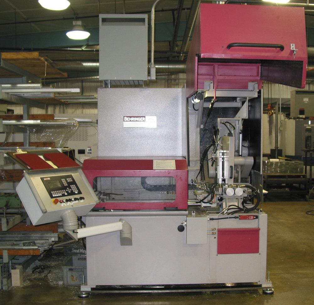 2003 Behringer VAL350 NC 1 Non-Ferrous Cold Saw