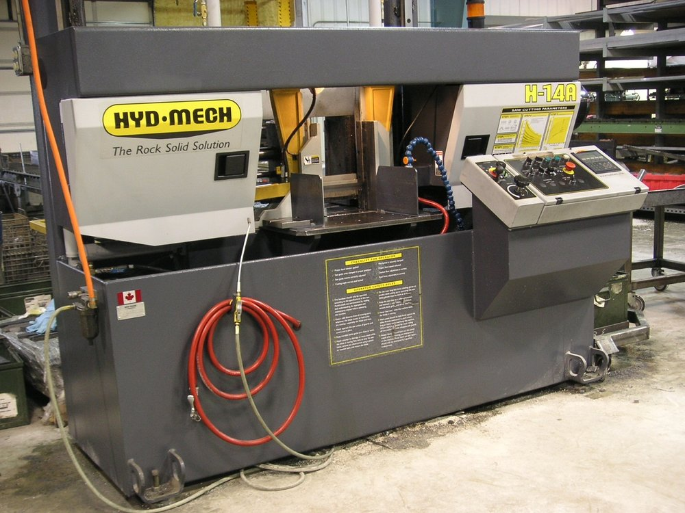 2005 Hyd-Mech H-14A Automatic Band Saw