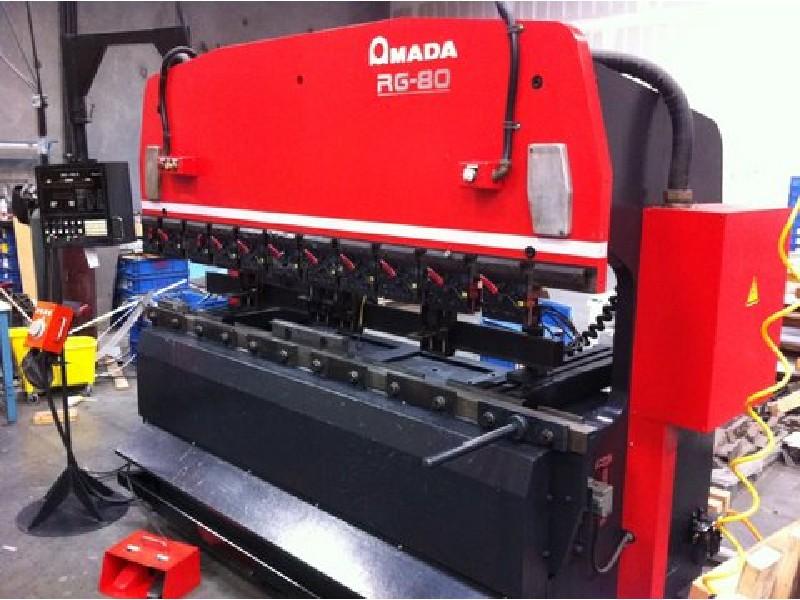 1992 Amada RG80 Press Brake
