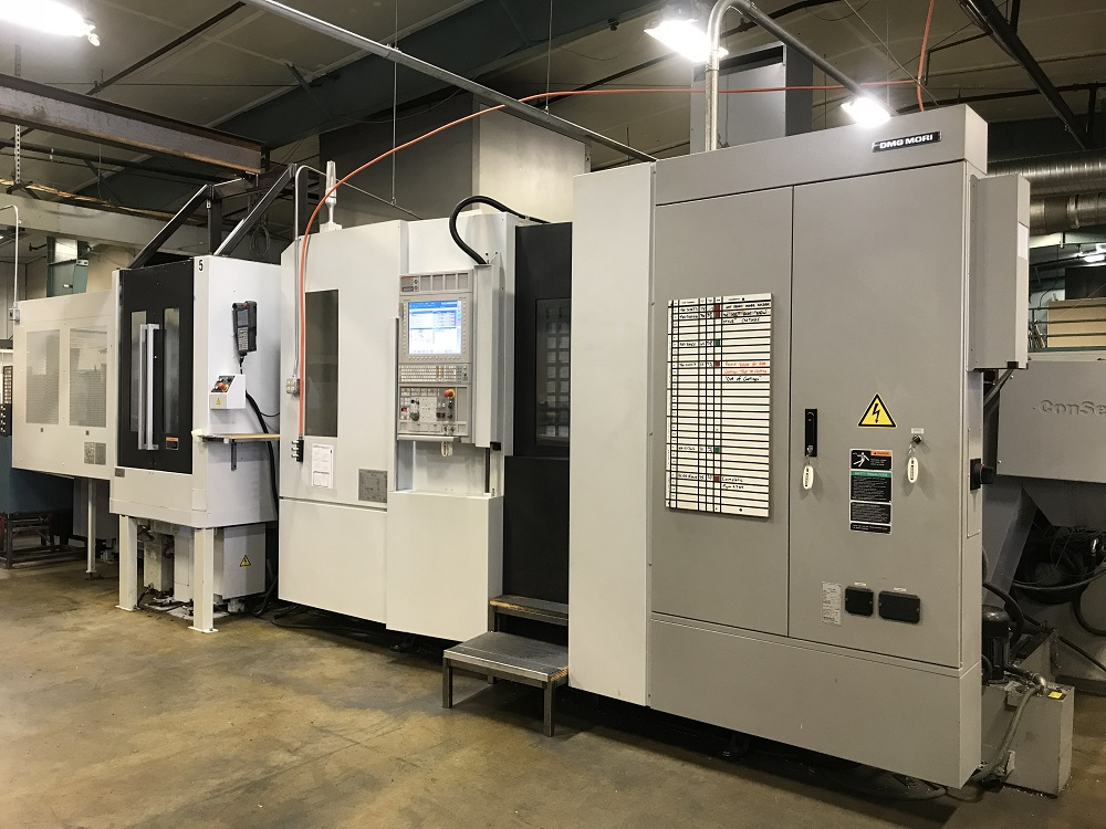2015 Mori Seiki NH5000 DCG/40 with 7 Station CPP