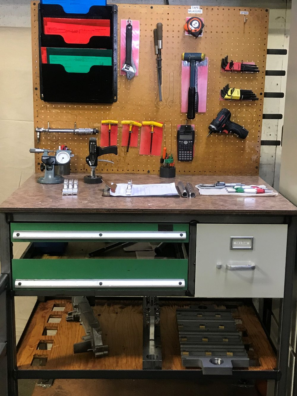 lean manufacturing, machinist workstation
