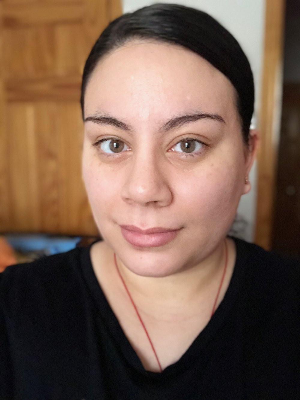 My face without makeup. Taken on the iPhone X.
