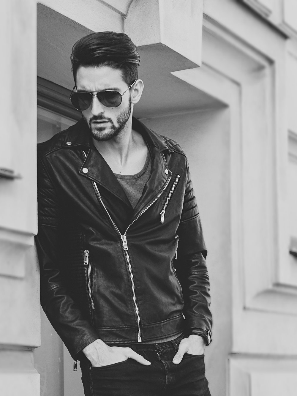 Photoshoot Jack and Jones Gucci Watch streetstyle Mens blog David Lundin Top Model Beard Hair -1.jpg