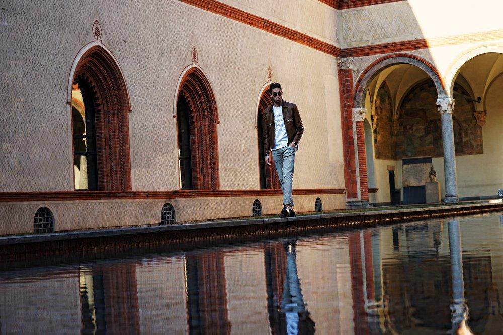 A day together with Nicola Ruscino in Castello Milano. mensfashion Blogger influencer David lundin topmodel-5.jpg