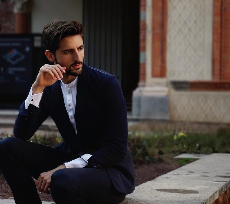 Castello in Suit Milano With Mr Salvatore David Lundin Topmodel Sverige Italy-2.jpg