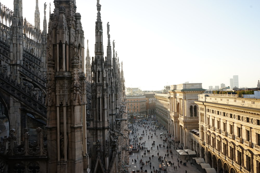 On Top Of Duomo next to the Clouds Model David topmodel lundin-01.jpg