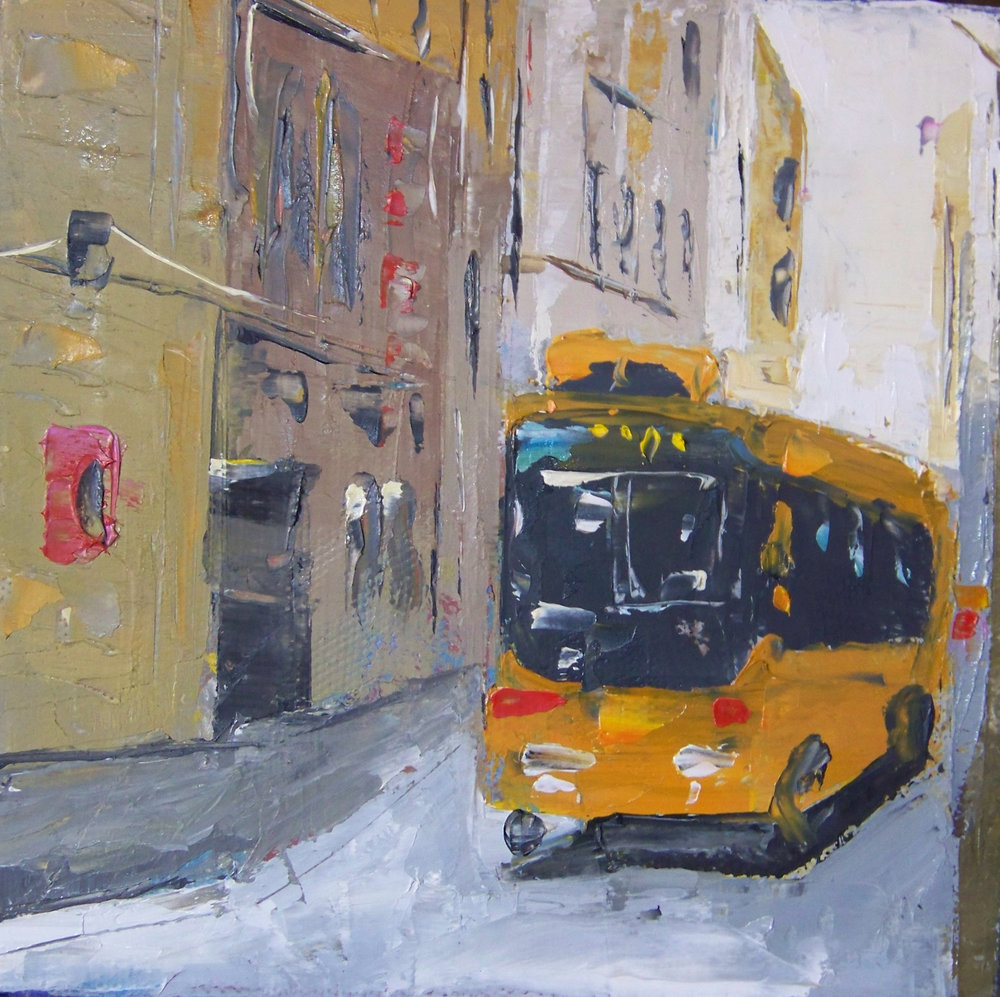 city 13, 6x6, oil, sold.jpg