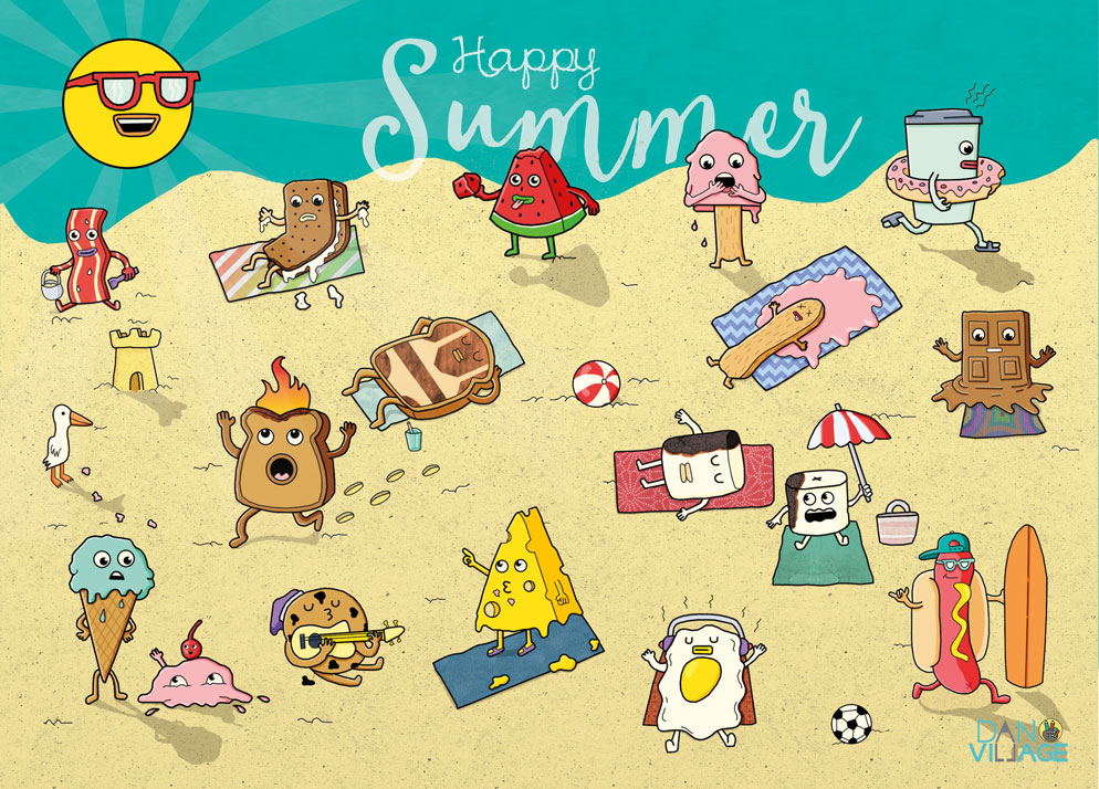 Happy_Summer_Postcard_Danvillage