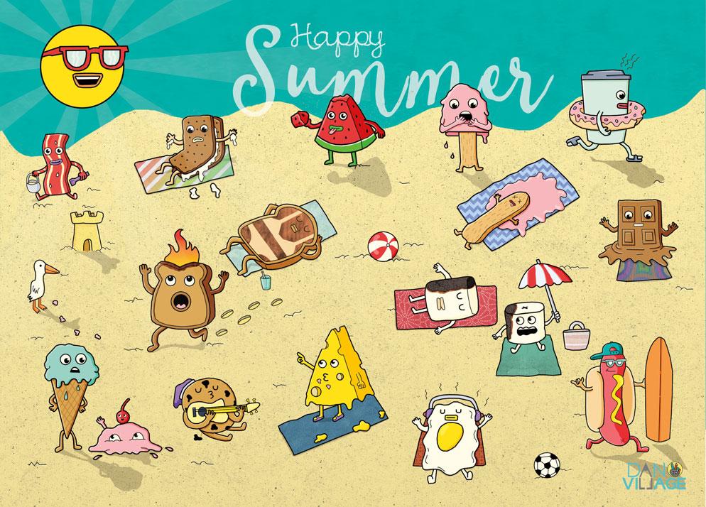 Happy_Summer_Postcard_Danvillage