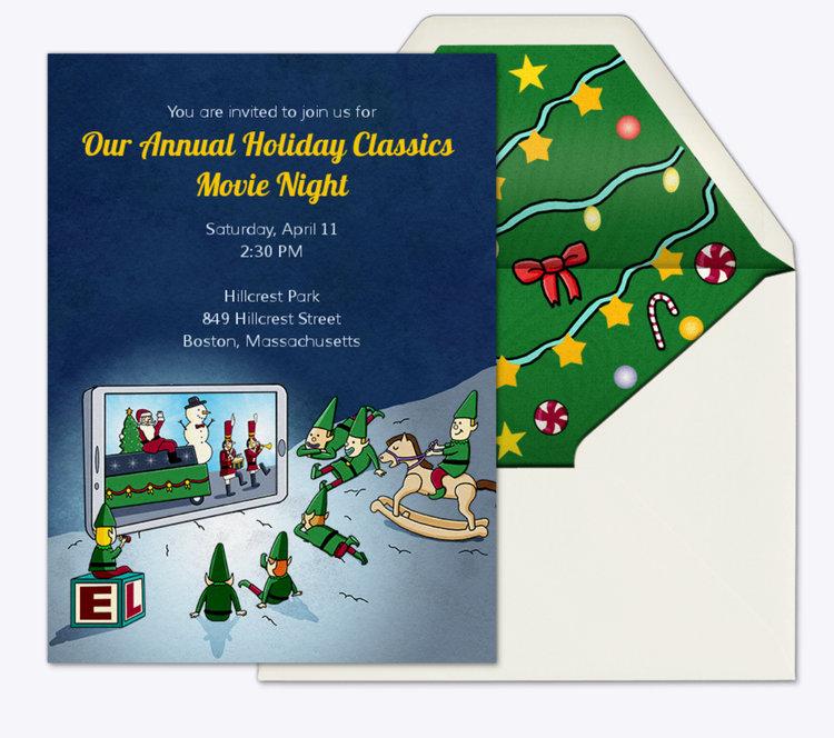 evite invitation designs danvillage illustration