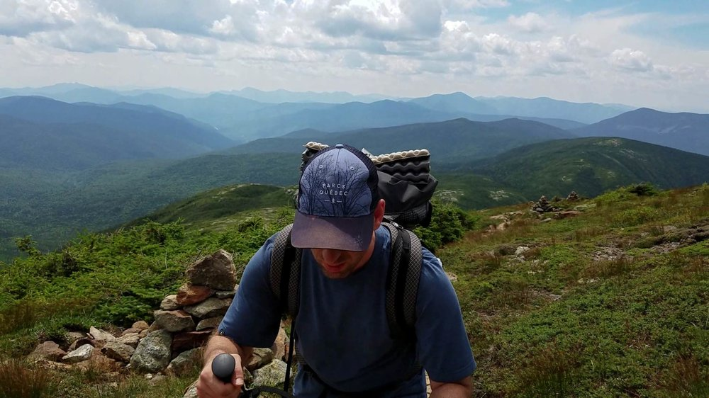 Backpacking the white mountains