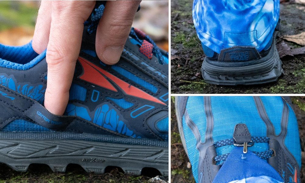 altra lone peak 4 point gaiter system