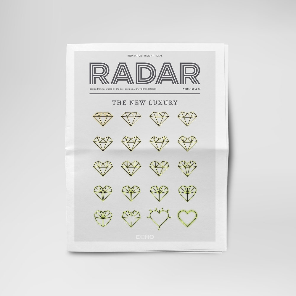 Radar publication - The New Luxury