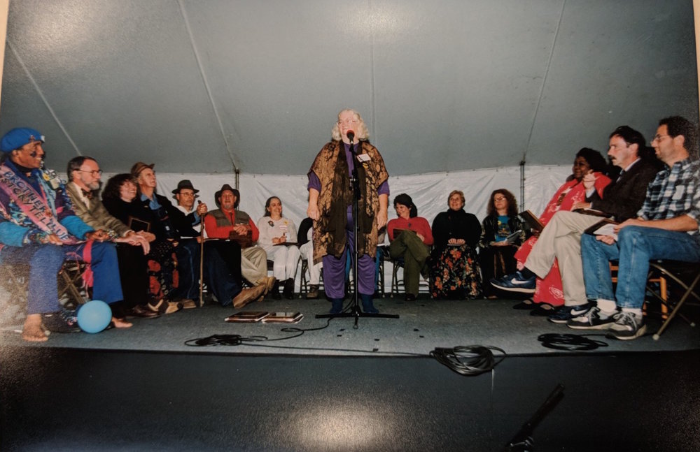 Circle of Excellence Ceremony, 1996. Photo Courtesy of American Folklife Center at the Library of Congress. Used by permission of International Storytelling Center and Elizabeth Ellis.