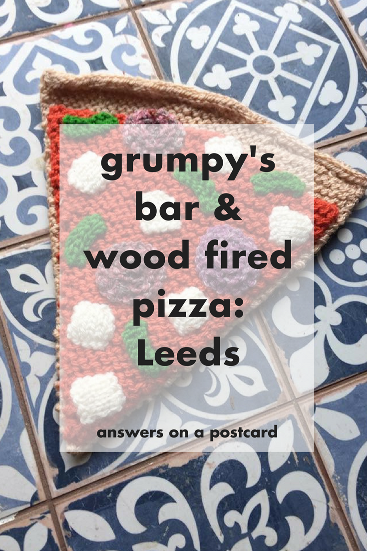 Grumpy's bar & wood fired pizza - Leeds