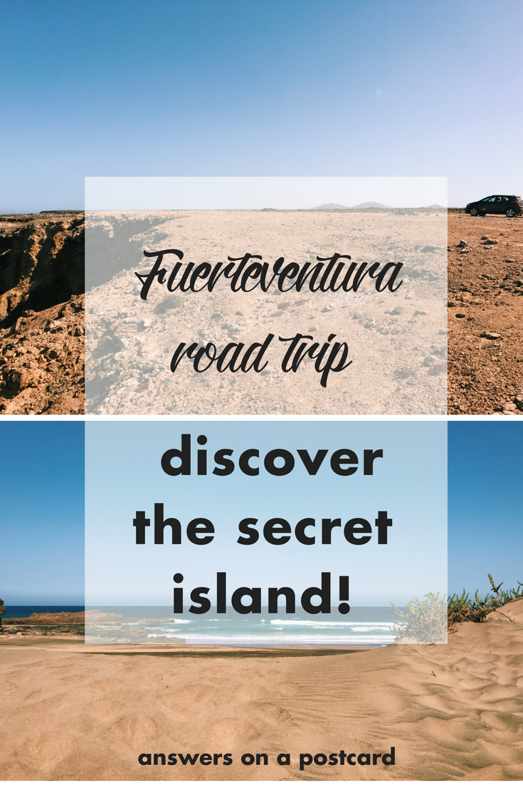 Fuerteventura road trip - discover the secret island!