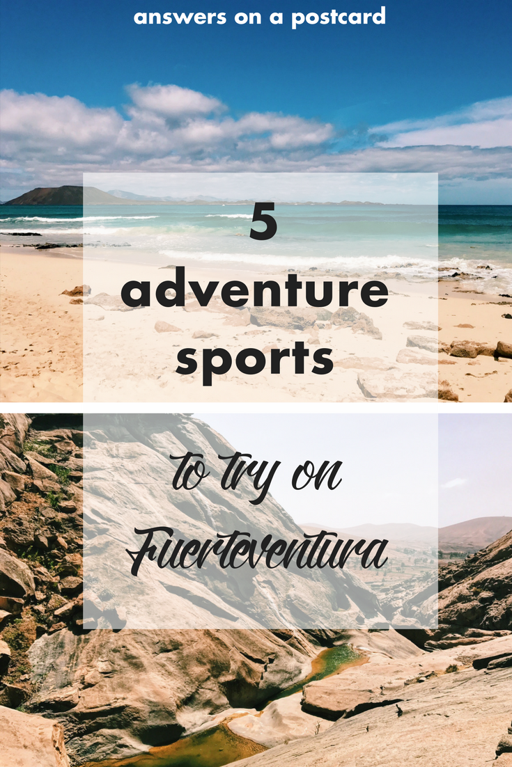 5 adventure sports to try on Fuerteventura!