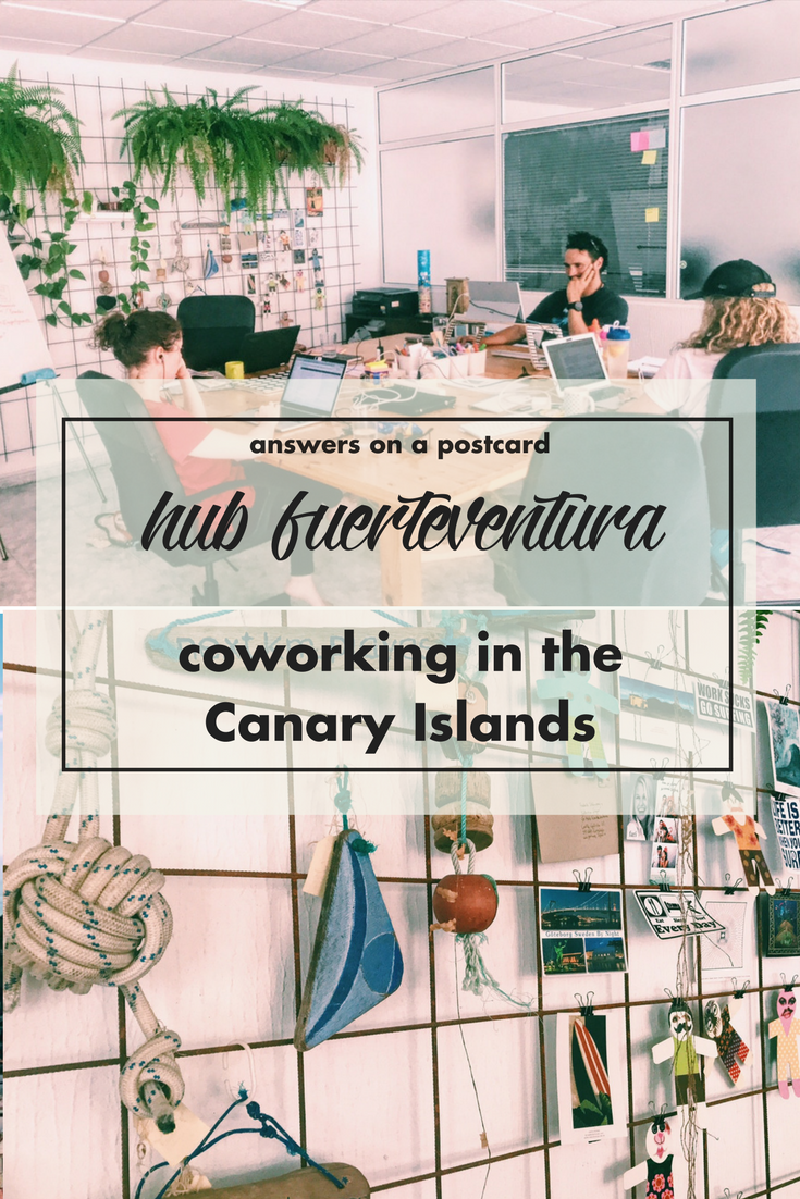 Hub Fuerteventura: co-working in the Canary Islands