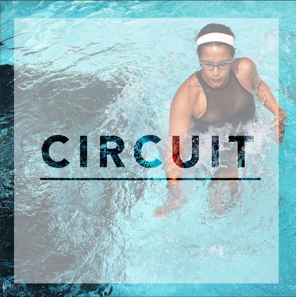 Class description - Alternating high speed cardio with toning exercise, move from station to station, with very limited time to rest. The class ends with a 5-min relaxation and floating meditation.| WHAT TO EXPECT |2 circuits of 4 stations each3 laps per circuit| RECOMMENDED FOR |Everyone.