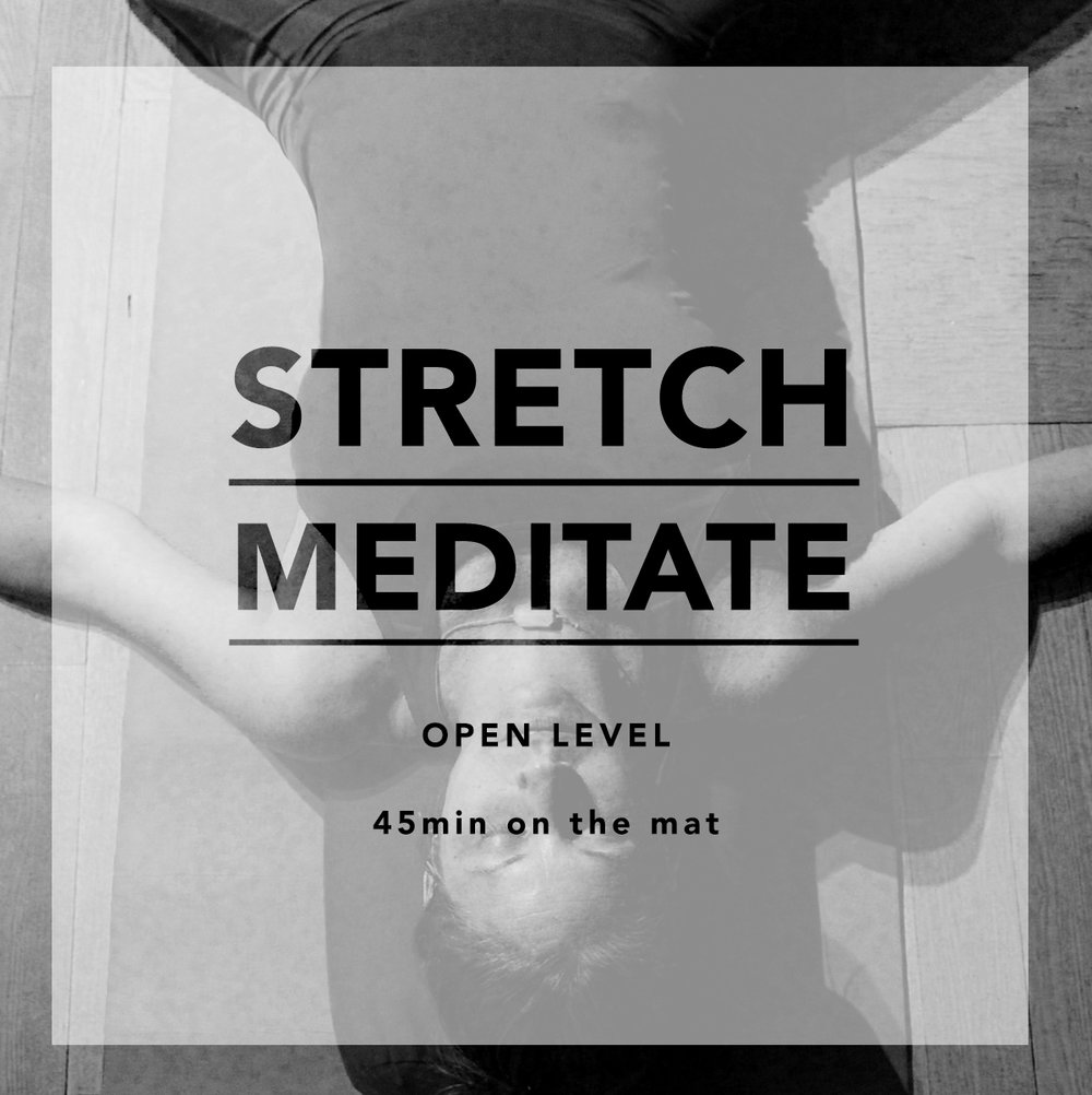 BODY RELEASE - Full body stretch & breathing exercises to release body tensions & restore the mind. Class ends with guided meditation & essential oils.-open to all. meditation beginners welcome.