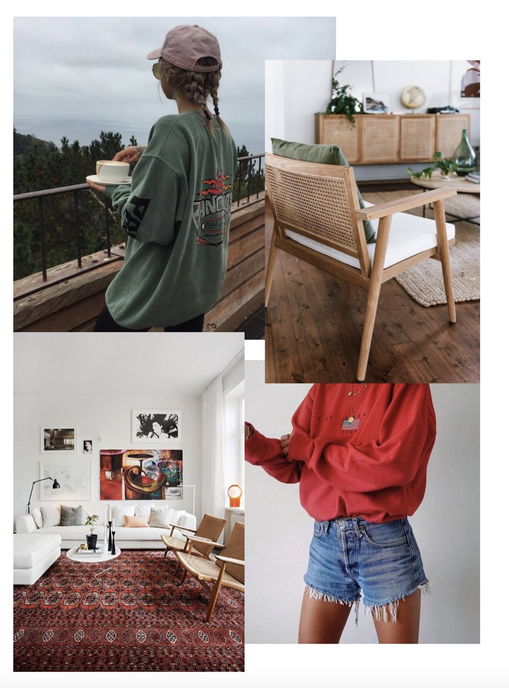 You guys our fave colors to accessorize with are your nautal greens and warm red yaasssss!!! Pics via pinterest