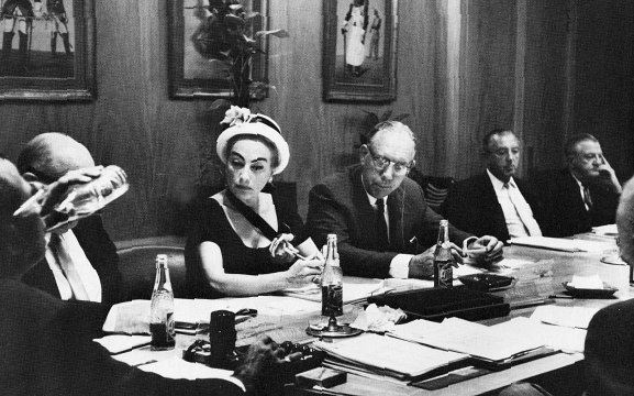 Joan Crawford on the Pepsi Co. board